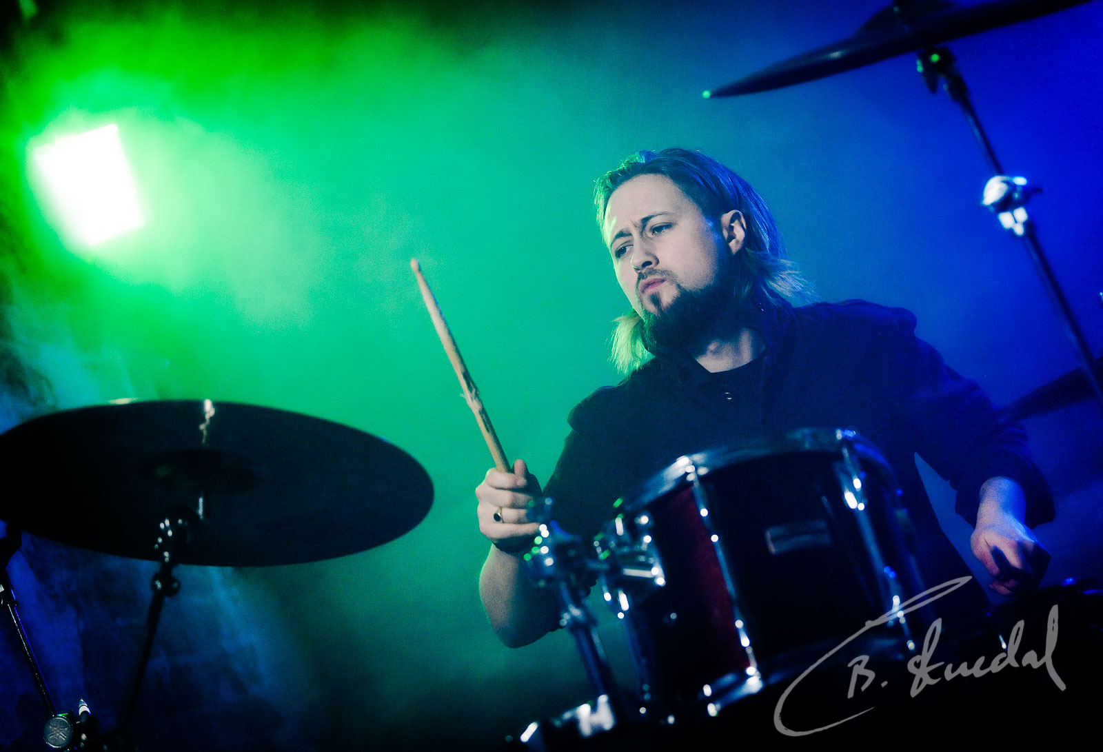 Drummer shot 1