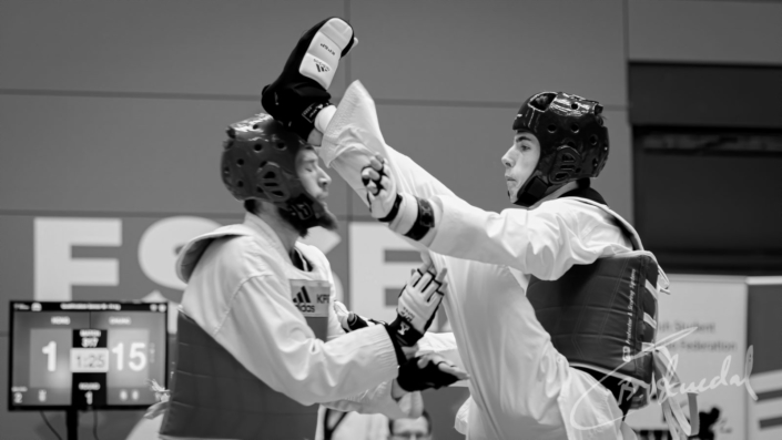 Taekwondo match